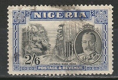 Nigeria 1936 Kgv Road 2/6 Used
