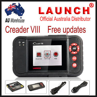 LAUNCH Creader VIII OBD2 Diagnostic Tool ABS SRS Airbag EPB Oil Service Reset