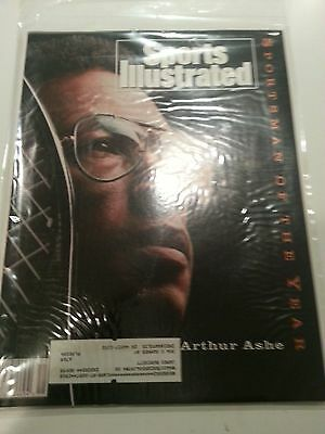 Tennis ' Arthur Ashe- Sportsman of the Year-Sports Illustrated-Dec 21,1992