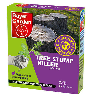 Bayer Garden Tree Stump Killer 3 Sachet