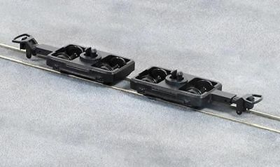 PECO GR-104 OO-9 SCALE Pair of Coach Bogies, Wheels & Couplers
