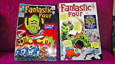 FANTASTIC FOUR OMNIBUS 1 & 2 Marvel Stan Lee and Jack Kirby