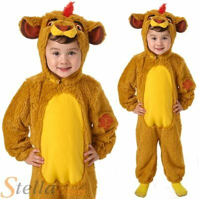 Child Kion Lion Guard King Costume Disney Fancy Dress Official Boys Girls Outfit