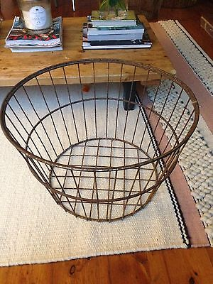 Antique, Vintage French Wire Basket
