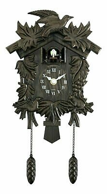 Widdop & Bingham Traditional Cuckoo Wall Quartz Clock 12 Months Warranty