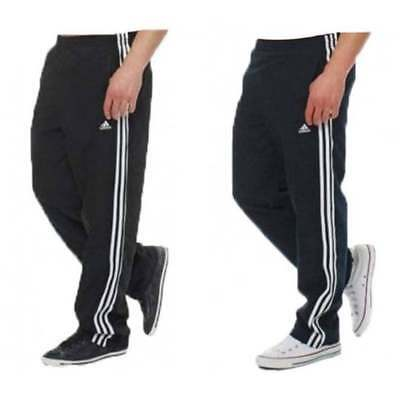 Adidas Essentials 3S Basic Mens Woven Tracksuit Bottoms Joggers All Sizes