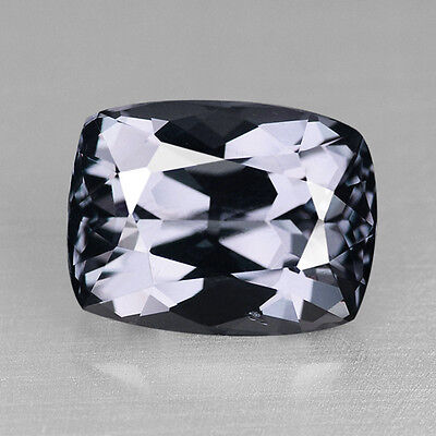 7.53Cts Exquisite Custom Cushion Cut Natural Gray Spinel Video In Description
