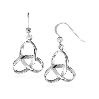 Silver Hallmarked Celtic Drop Earrings from Fashionvictime