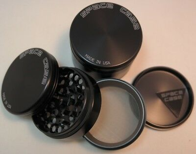 SPACE CASE TITANIUM 4 PART 60mm MEDIUM GRINDER - FREE NXT WORKING DAY COURIER UK