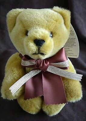 Merrythought Plush Centenary Teddy Bear - New With Tags