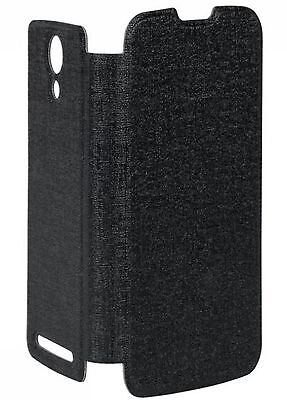 Cover with a lid - black flip cover to Kruger & Matz MIST