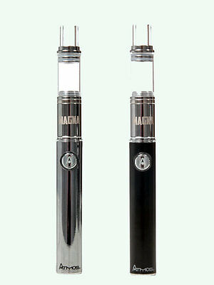 Atmos Magna Wax Vaporizer Kit Chrome / Black - Free Signed For Uk Delivery