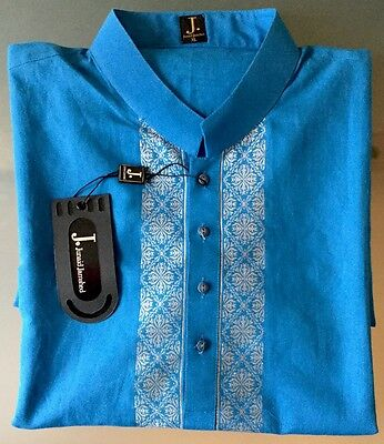 Junaid Jamshed Genuine Designer XL Shirt Kurta Asian Indian Outfit