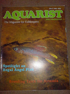 Aquarist And Pondkeeper July 1981