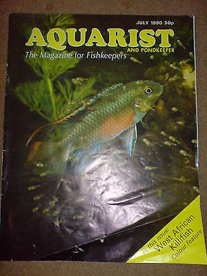 Aquarist And Pondkeeper July 1980