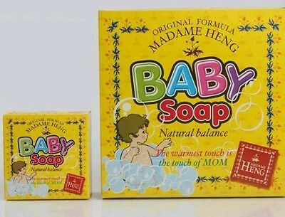 Madame Heng Baby Soap with Chamomile,herbal for baby 150G.