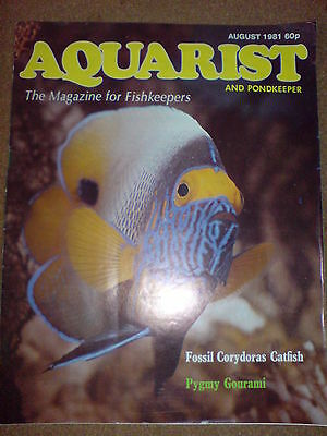 Aquarist And Pondkeeper August 1981