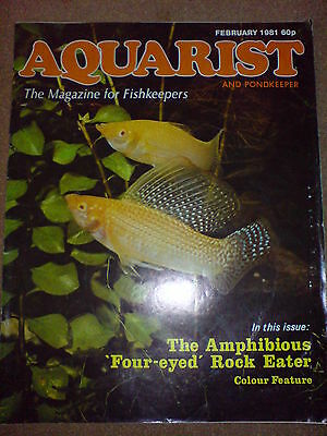 Aquarist And Pondkeeper February 1981