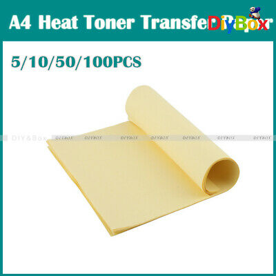 5/10/50/100Pcs A4 Heat Toner Transfer Thermal Paper For Iron PCB Prototype Board