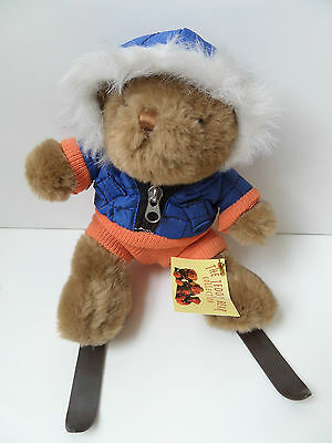 Scott The Skiier ~ The Teddy Bear Collection ~ Plush Soft Cuddly Toy With Tags