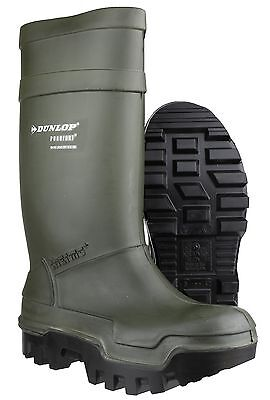 Dunlop Purofort Green Thermal Thermo -40 Insulation Safety Wellingtons UK5-13