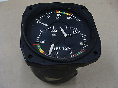 3 in 1 aircraft gauge