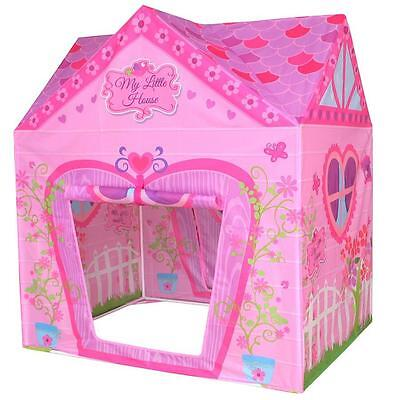 Pop Up House Princess Play Tent Children Garden Girls Playpen Tents Pink Indoor