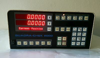 Quadra Chek Check 2000 XY Digital Readout DRO QC2200-HH