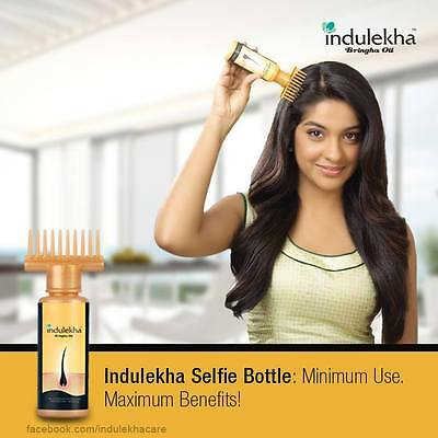 Indulekha Bringha Hair Oil Selfie Bottle 100 ml -Free International Delivery