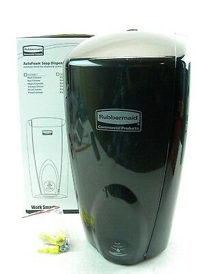 Rubbermaid AutoFoam Soap Dispenser (1100 ml)*BLACK/BLACK*(FG750127) (G2)