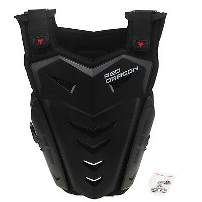 62d4ee11e4d NEW MOTORCYCLE BACK Chest Protector Body Armor Riding Sport Dirt Bike Vest  Guard