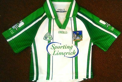 Limerick GAA Official O'Neills Gaelic / Hurling Jersey (Youths 1-2 Years)
