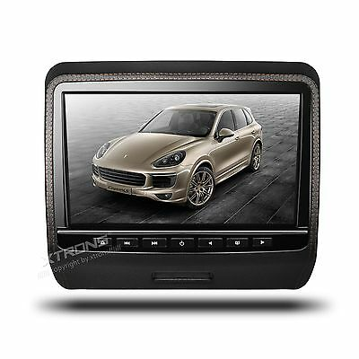Xtrons Hd9Pch Black 9 Headrest Mp3 Divx Mp4 Monitor Poggiatesta Dvd Hdmi Usb Gam