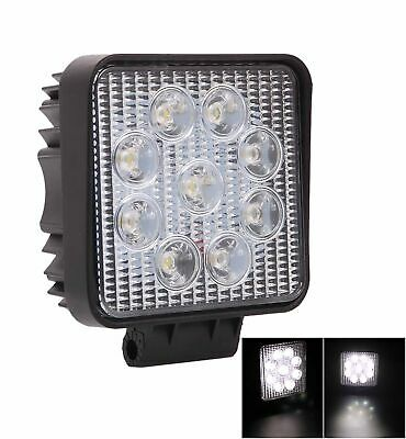 2x 27W CREE Flood LED Work Lights Off Road 4x4 Truck Boat 12V 24V Reverse Lamp