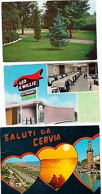 Set Of 6 World Wide Postcards From The 60 Th