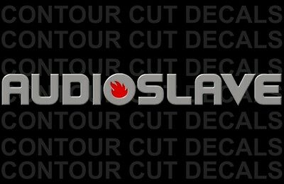 Audioslave Silver Decal