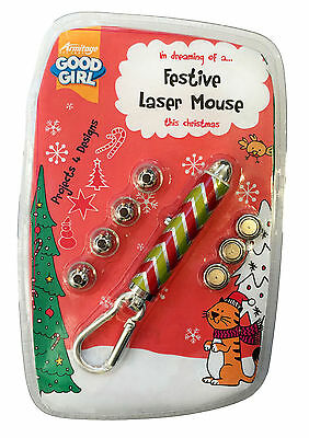 Armitage Festive Laser Toy Cat Toy - Projects 4 Different Festive Shapes