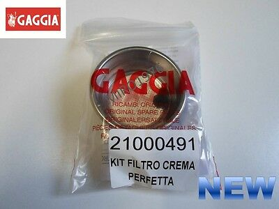 Gaggia Parts – Perfect Crema Filter Kit - 2 Cup