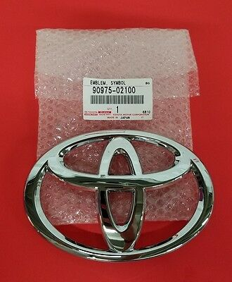 New Oem Genuine Toyota Avalon,highlander,rav4 Emblem,radiator Grille 90975-02100