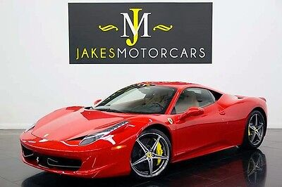 2013 Ferrari 458  2013 FERRARI 458 ITALIA, $295K MSRP! LOTS OF CARBON FIBER, LOADED WITH OPTIONS!