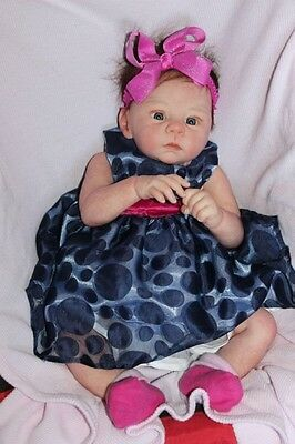 New Release Reborn Babies Doll Harlow by Laura Tuzio Ross
