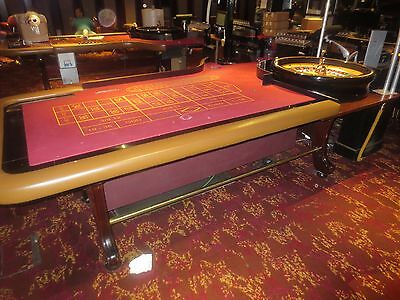 Roulette & Blackjack table with Roulette wheels & Chips etc