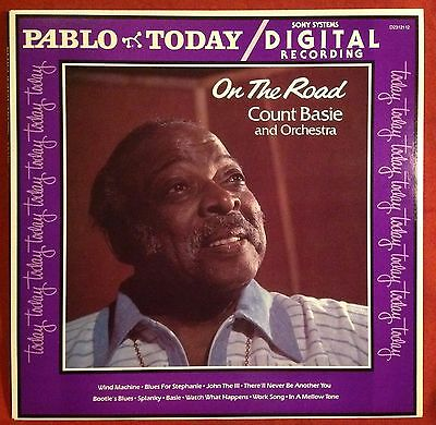 Count BASIE - On The Road  - LP - MUS
