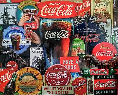 "Coca-Cola Springbok 1000 Piece ""Decades of Tradition"" Puzzle - BRAND NEW!"