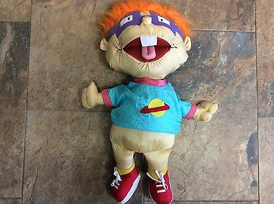 "large rugrats  doll soft toy chuckie finster 25"" tall nickelodeon"