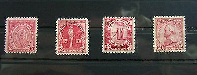 Collection of Unmounted Mint stamps from USA circa 1930