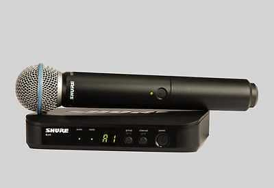 Shure BLX24/B58 Handheld Wireless Vocal System with BETA58 Mic.