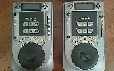 Numark Axis 4 professional CD player x2 mixing turntables, rare