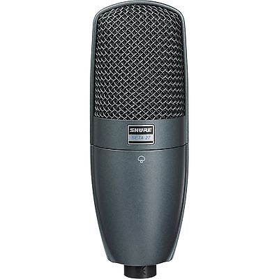Shure BETA 27 Supercardioid Condenser for Instrument and Vocal Microphone