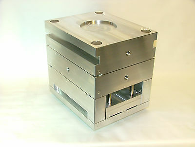 Injection Mold Base 10 x 10 7075 aluminum prototype plastic polymer
